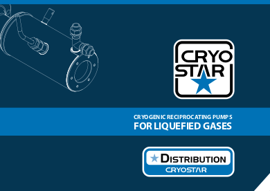 CRYOGENIC RECIPROCATING PUMPS FOR LIQUEFIED GASES